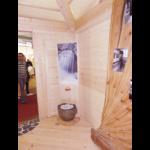 stand Arredamont 2015 particolare elemento acqua feng shui artigiani Dosoledo